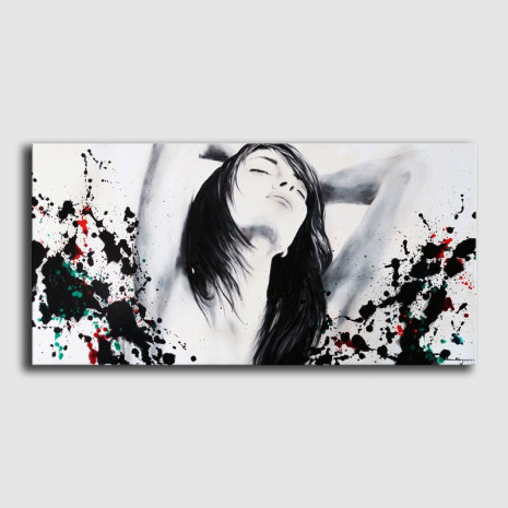 Arte contemporáneo-Dibujo al óleo