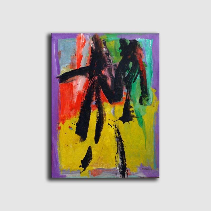 Cuadro original pintura abstracta de Agusti Viladesau