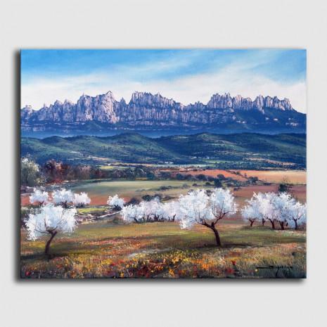 Cuadro original-Montserrat