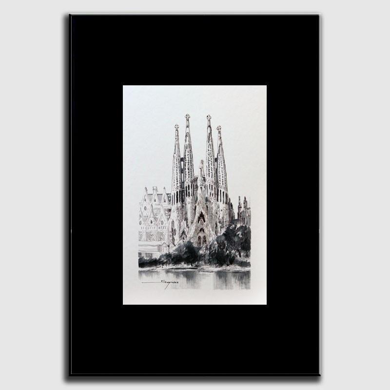 Dibujo Sagrada Família