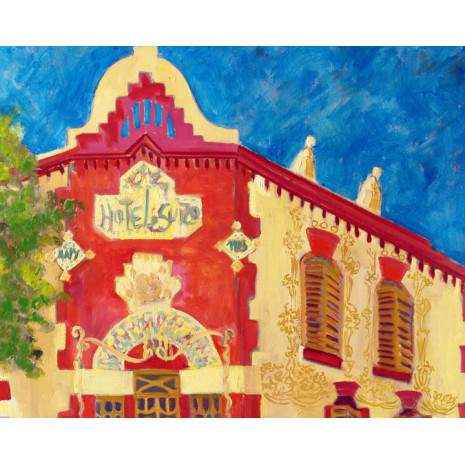 Cuadros Paisaje Urbano-Hotel Suïs (Sabadell)