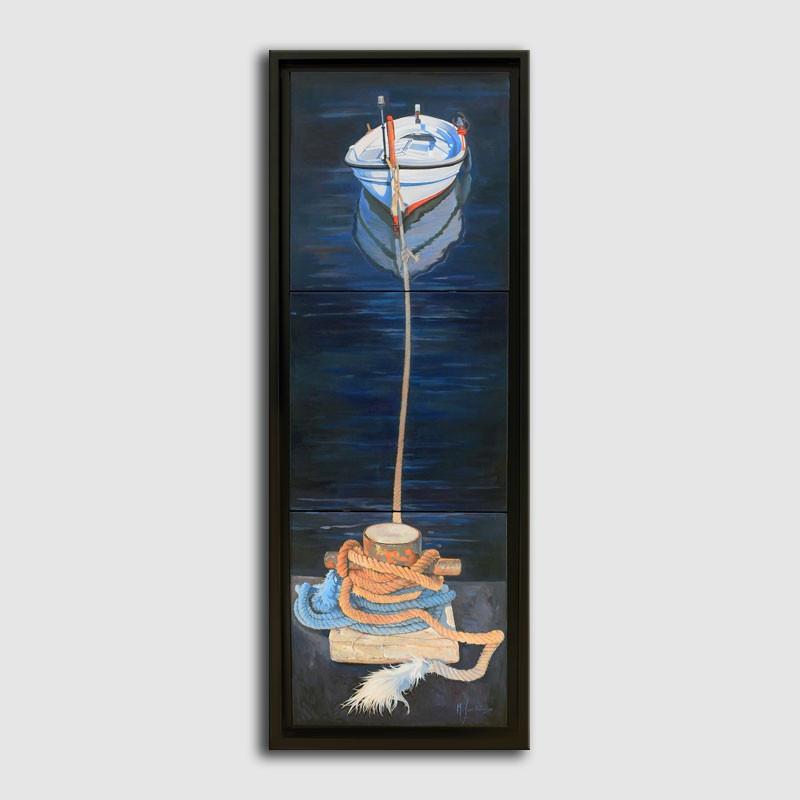 Tríptic marina de Miquel Solís