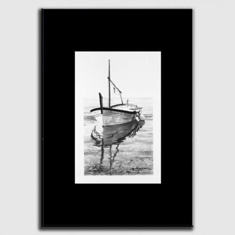 Dibujo Barca