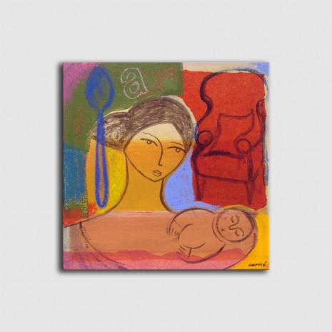 Cuadro maternidad