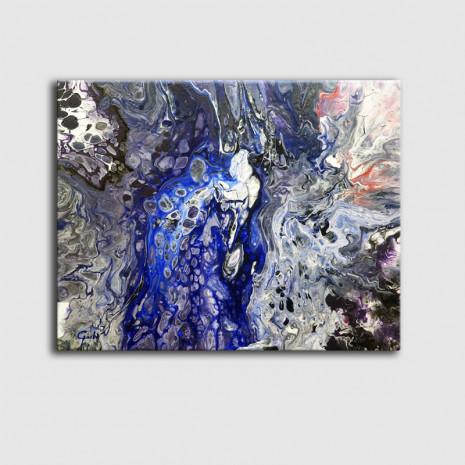 Quadre petit abstracte
