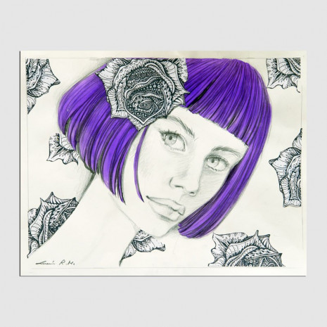 Dibujo original de Lucia Ruiz