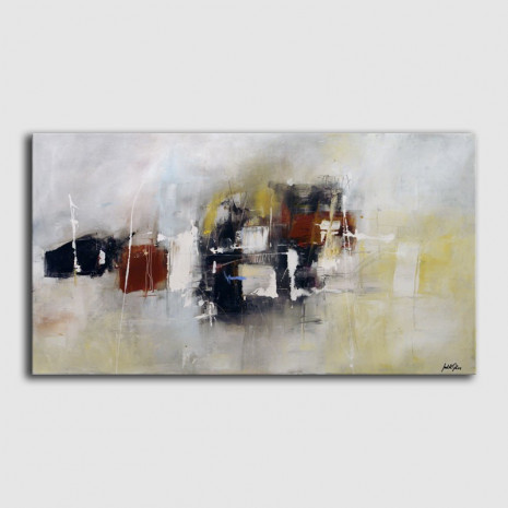 Quadre abstracte de Judith Galiza