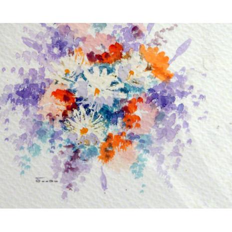 Acuarelas de Flores