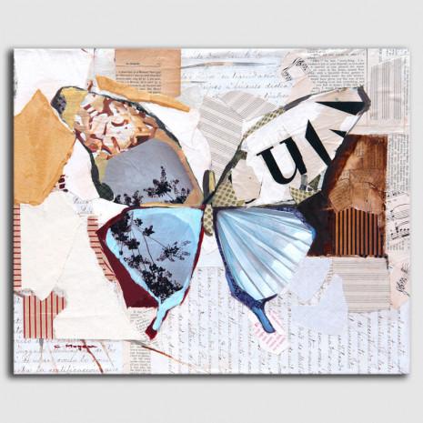 Carme Magem - Collage Mariposa