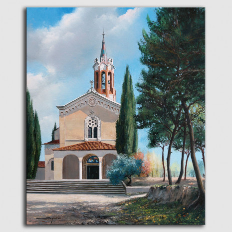 Cuadro Santuario de la Salut Sabadell