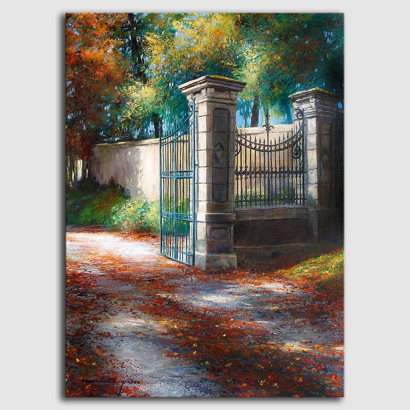Cuadro colores de otoño