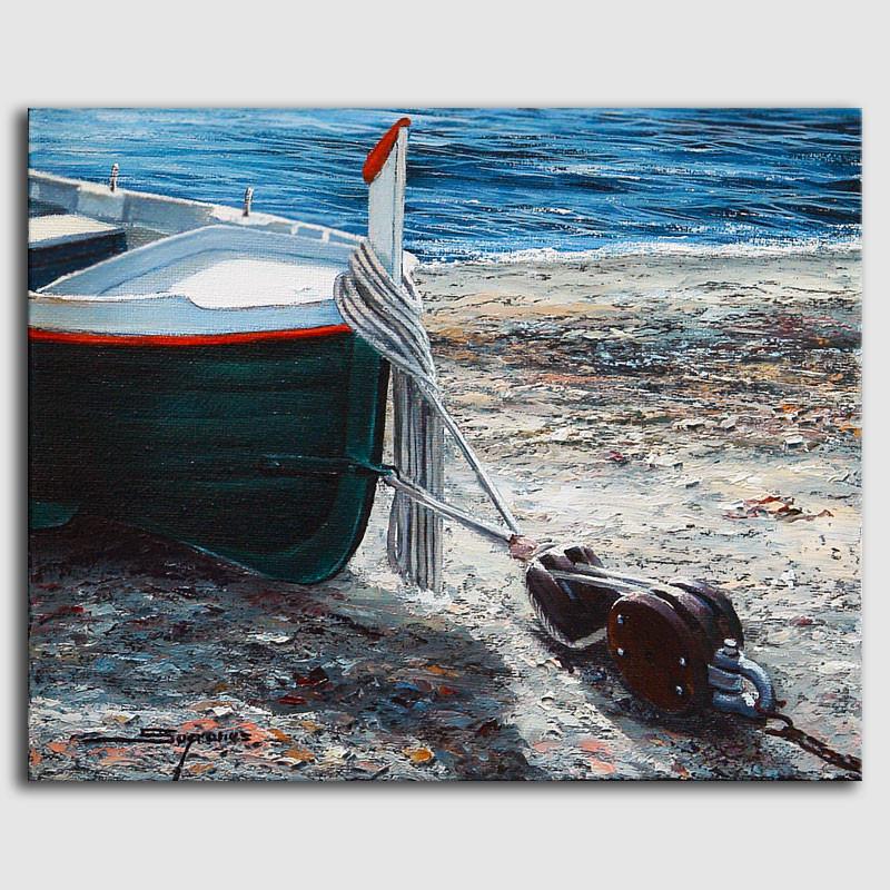 Cuadro barca - Sugrañes