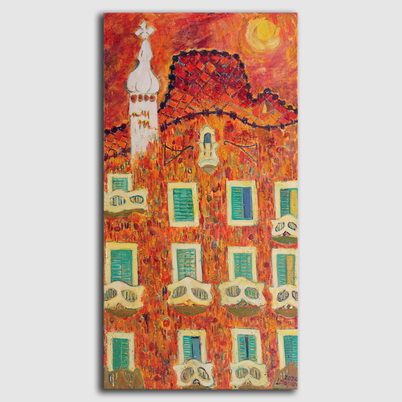 Cuadro Casa Batlló