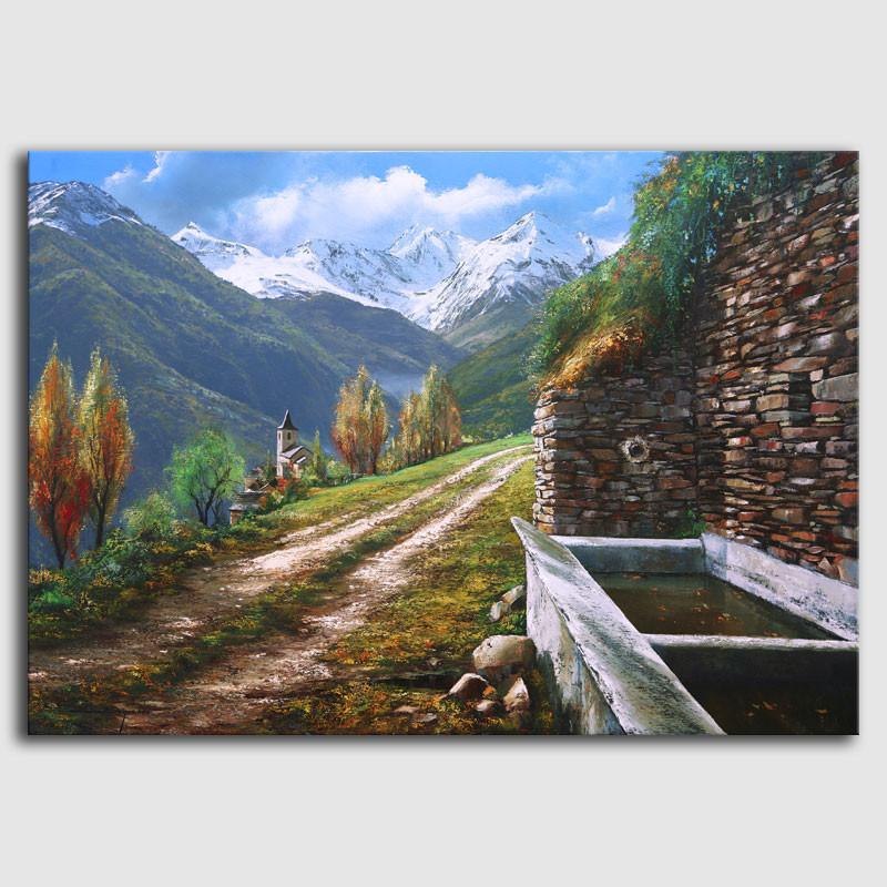 Cuadro Valle de Arán -Sugrañes