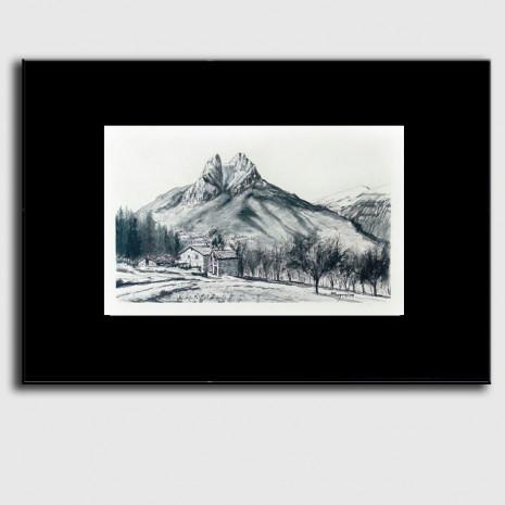 Dibuix Pedraforca - Sugrañes
