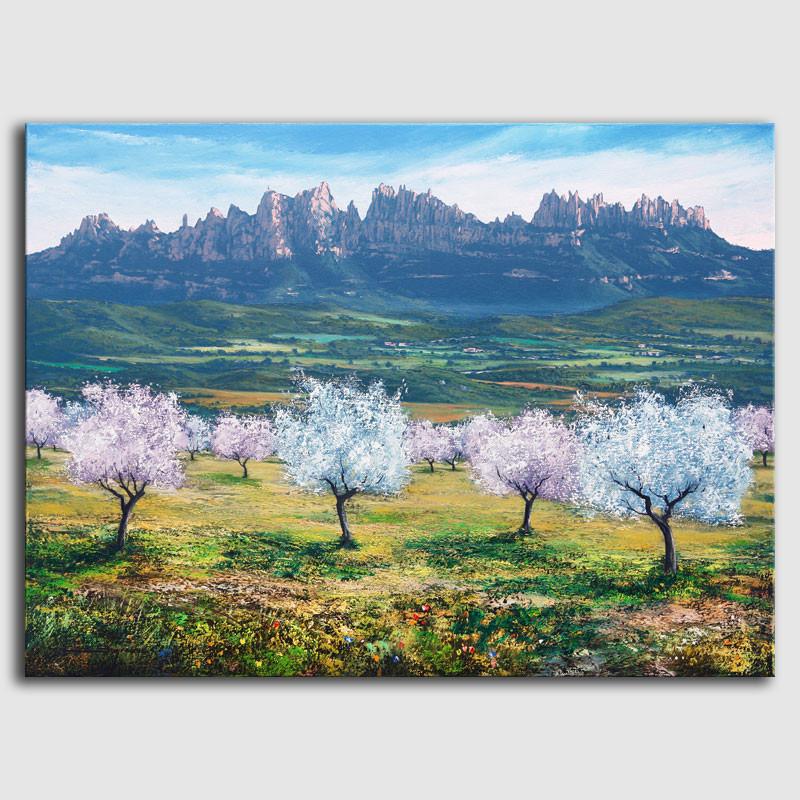 Quadre Paisatge Montserrat