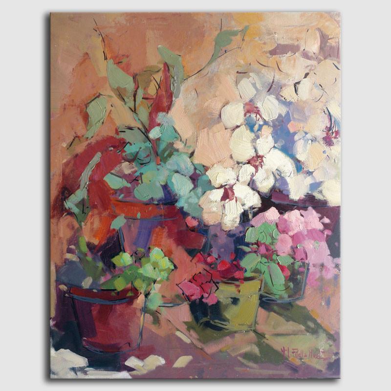 Quadre flors - Filella Muset