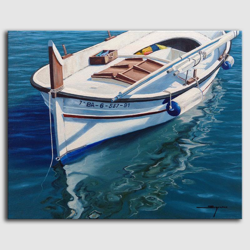Cuadro barca