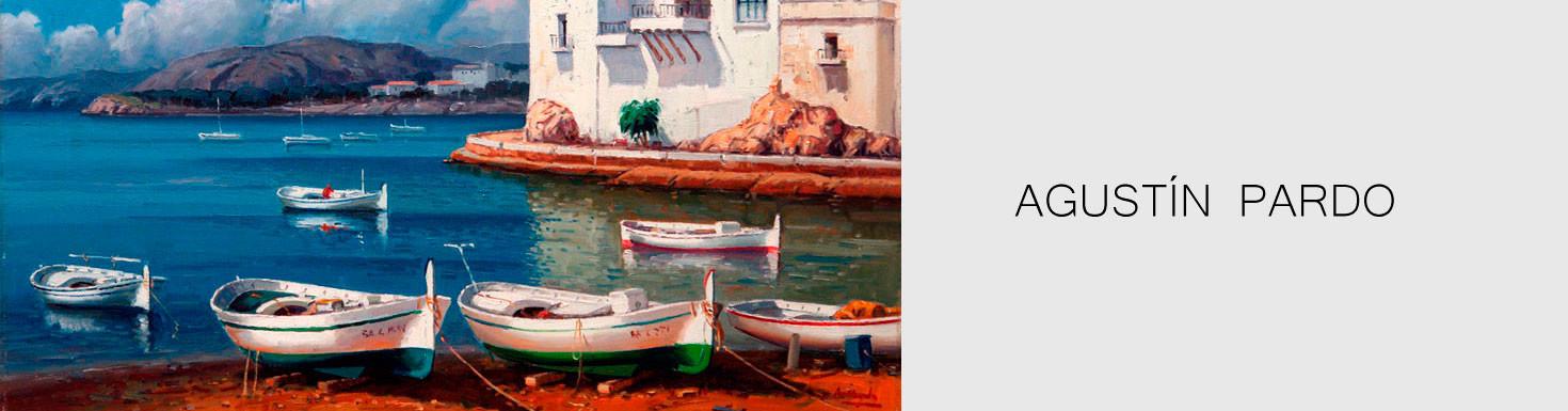 Comprar cuadros realistas de marinas al óleo - Agustín Pardo