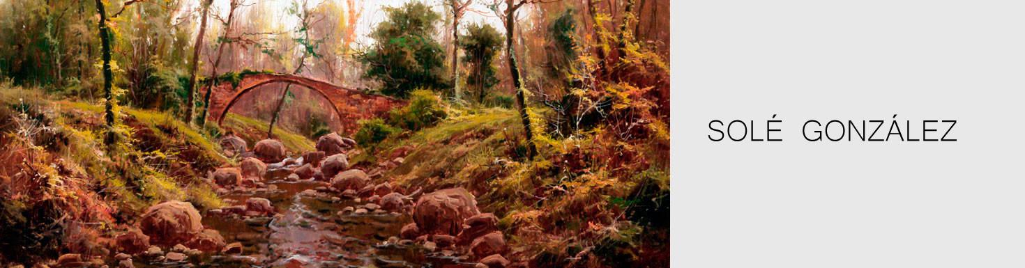 Comprar pinturas originales de paisaes realistas - Solé González