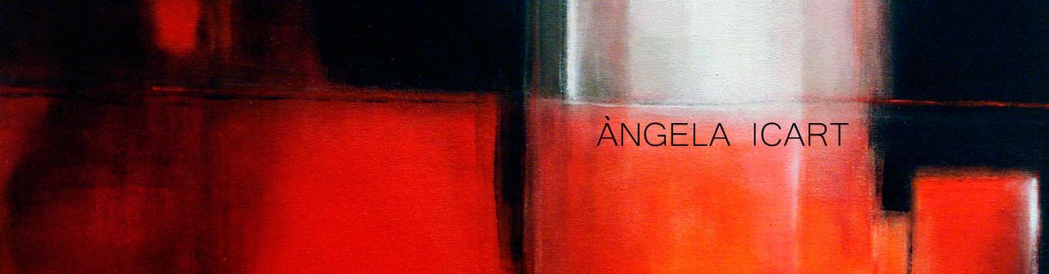 Cuadros abstractos de la artista Angela Icart en Arts Fité